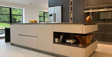 luxury modern kitchen Stanmore